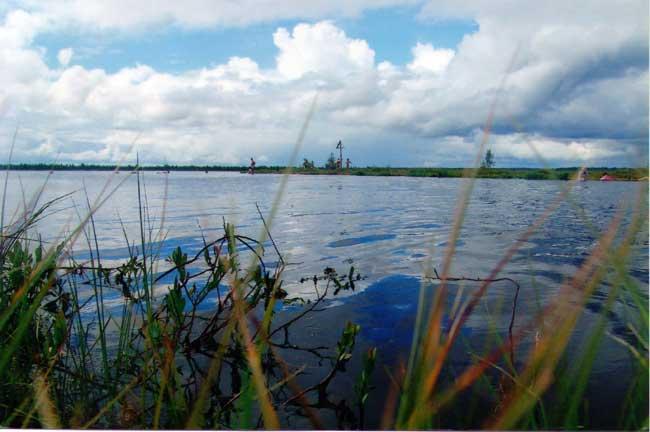 Святое озеро в с. Менюша