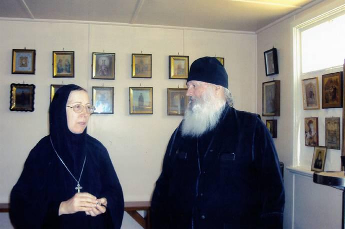 Новое Шамордино С настоятельницей женского монастыря в честь Казанской иконы Божией Матери матушкой Марией.