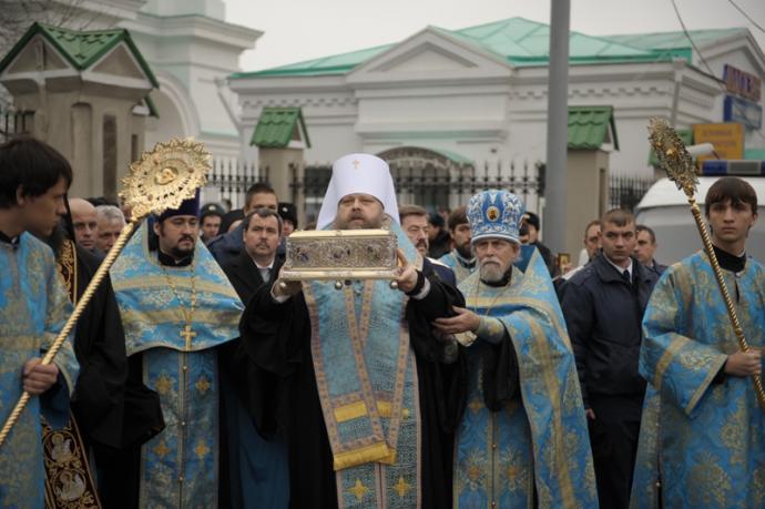 Встреча в паломническом центре московской патриархии
